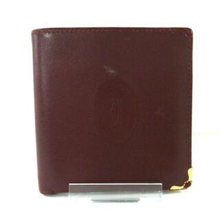 カルティエ(Cartier)のカルティエ 2つ折り財布 マストライン(財布)