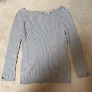プロポーションボディドレッシング(PROPORTION BODY DRESSING)のプロポーション トップス ブルー(カットソー(長袖/七分))