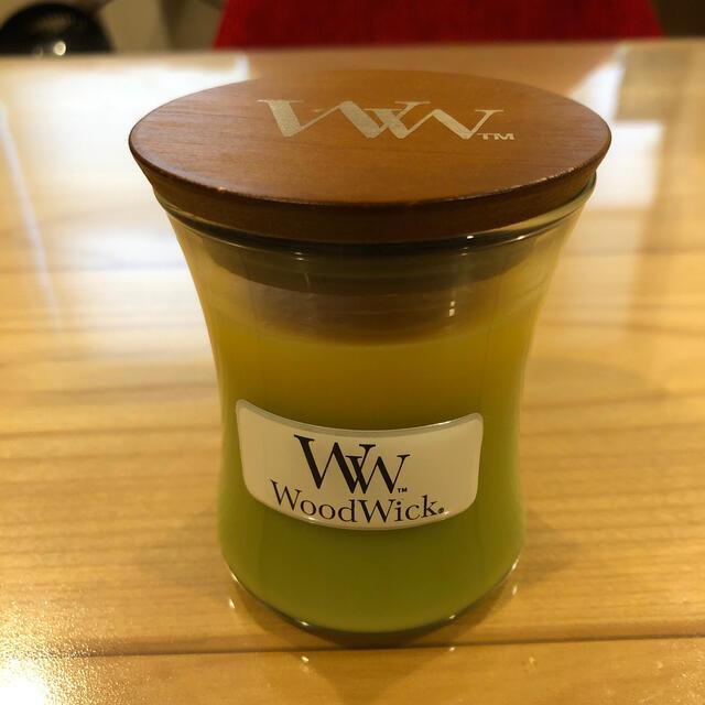 woodwick ウッドウィック アロマキャンドル コスメ/美容のリラクゼーション(キャンドル)の商品写真