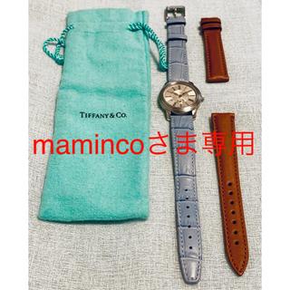 Tiffany & Co. - ティファニー マーク ラウンドウォッチ ステンレス クォーツ