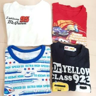 エドウィン(EDWIN)のプラレール110 カーズ120 Tシャツ 4枚セット(Tシャツ/カットソー)