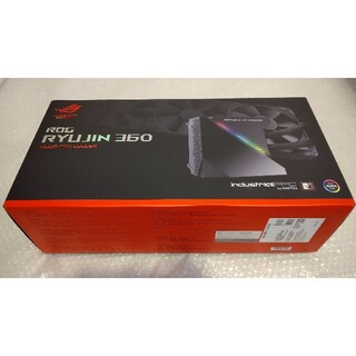 エイスース(ASUS)の美品 ASUS ROG RYUJIN 360 水冷クーラー CPU OLED A(PCパーツ)