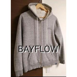 BAYFLOW - ベイフロー パーカー BAYFLOW  M 裏ボア