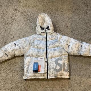 Supreme - supreme Hooded Down Jacket Receipt