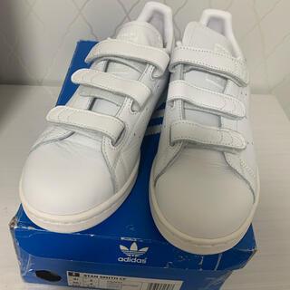 adidas - 未使用品 adidas アディダス スタンスミス 白 23.5 ホワイト