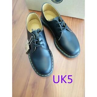 ドクターマーチン(Dr.Martens)のUK5即納Dr.Martens ドクターマーチン 1461/黒 3ホールシューズ(ローファー/革靴)
