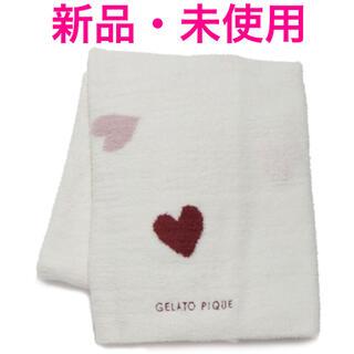 ジェラートピケ(gelato pique)の♡新品・未使用 ジェラートピケ パウダー ハートブランケット♡(おくるみ/ブランケット)