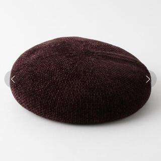 ビューティアンドユースユナイテッドアローズ(BEAUTY&YOUTH UNITED ARROWS)のBY シェニールベレー帽(ハンチング/ベレー帽)