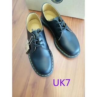 ドクターマーチン(Dr.Martens)のUK7即納Dr.Martens ドクターマーチン 1461/黒 3ホールシューズ(ブーツ)