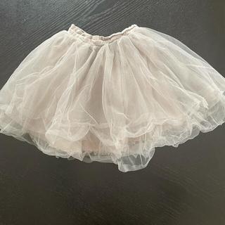 petit main - MARLMARL チュールスカート(~104cm)薄いグレー