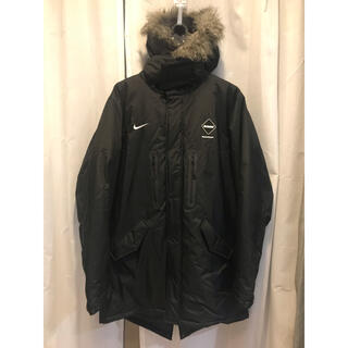 F.C.R.B. - FCRB NIKE AW15 STORM FIT BENCH COAT L