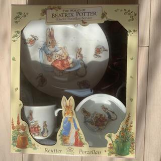 ピーターラビット 子ども用食器 ベビー食器 離乳食 ギフト プレゼント(離乳食器セット)