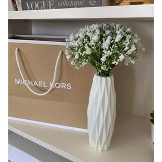 Francfranc - 再入荷♡フラワーベース プラスチック 花瓶 ホワイト インテリア