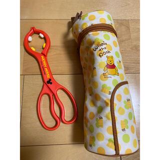 ディズニー(Disney)の哺乳瓶 トング&ケース(哺乳ビン用消毒/衛生ケース)