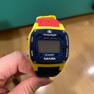 エクストララージ(XLARGE)のXLARGE SHARK時計(腕時計(デジタル))