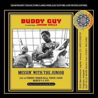 BUDDY GUY / MESSIN' WITH THE JUNIOR(ブルース)