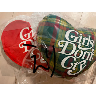 シュプリーム(Supreme)のgirls don't cry クッション ハートピロー セット(クッション)