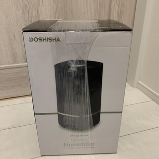 ドウシシャ - ドウシシャ 超音波式加湿器 ピエリア DKW-2040(BK)