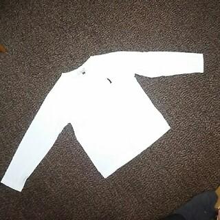 イーストボーイ(EASTBOY)の男女兼用 イーストボーイ 白 100 長袖 ネームタグ記名なし(Tシャツ/カットソー)