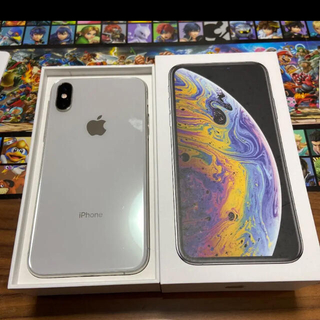 iPhone - iPhone xs silver 64GB simフリー