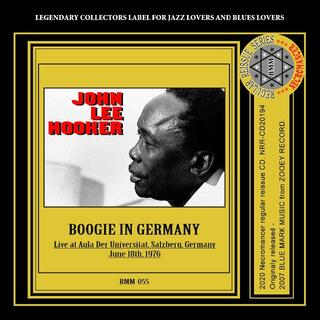 JOHN LEE HOOKER / BOOGIE IN GERMANY (ブルース)
