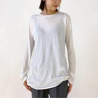 L'Appartement DEUXIEME CLASSE - 新品タグ付◆AP STUDIO Distortion Tシャツ ホワイト