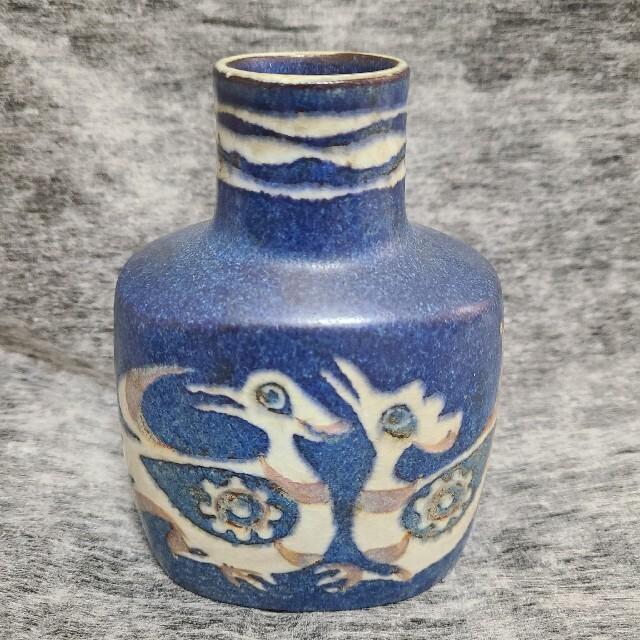 ROYAL COPENHAGEN(ロイヤルコペンハーゲン)のロイヤルコペンハーゲン 青い鳥 花瓶 インテリア/住まい/日用品のインテリア小物(花瓶)の商品写真