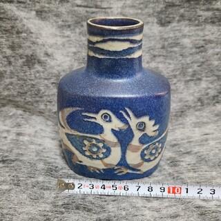 ロイヤルコペンハーゲン 青い鳥 花瓶