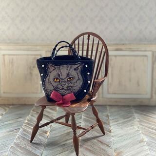 ドールバッグ 猫トート(ショルダーバッグ)