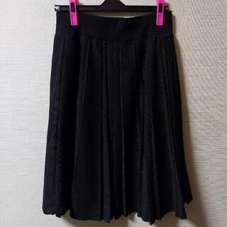 シマムラ(しまむら)の美品 プリーツスカート(ひざ丈スカート)