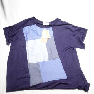アツロウタヤマ(ATSURO TAYAMA)の[ATSURO TAYAMA] Tシャツ ブルー レディース36(Tシャツ(半袖/袖なし))
