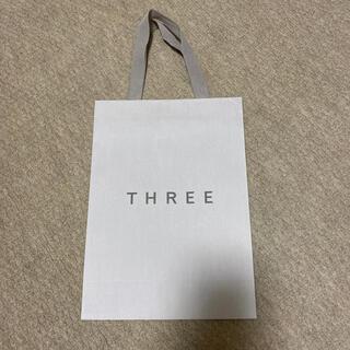 スリー(THREE)のTHREE ショッパー(ショップ袋)