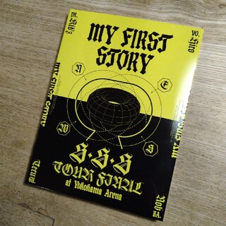 ワンオクロック(ONE OK ROCK)のMY FIRST STORY SSS TOUR FINAL blu-ray(ミュージック)