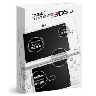 ニンテンドウ(任天堂)のNewニンテンドー3DS LL パールホワイト(携帯用ゲーム機本体)
