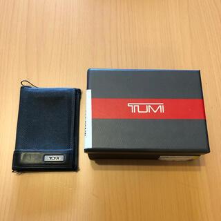 トゥミ(TUMI)のTUMI トゥミ カードケース 名刺入れ パスケース 定期入れ(名刺入れ/定期入れ)