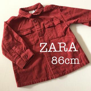 ザラキッズ(ZARA KIDS)のコーデュロイシャツ ZARA(ブラウス)