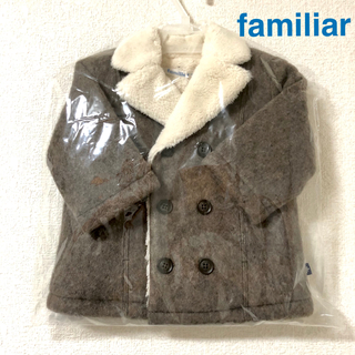 familiar - 【新品タグ付】familiar ファミリア ウール ショート コート 70