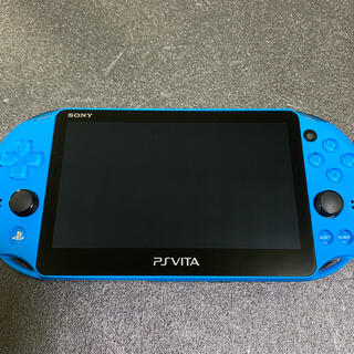 プレイステーションヴィータ(PlayStation Vita)のPSVita PCH2000 ブルー(携帯用ゲーム機本体)