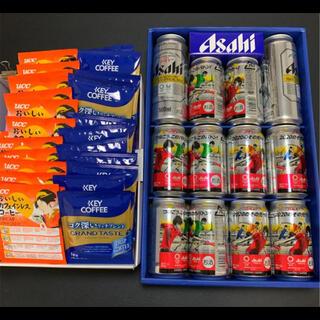 アサヒ(アサヒ)の【アサヒ】スーパードライ 12本 レギュラーコーヒー30袋(ビール)