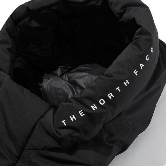 THE NORTH FACE(ザノースフェイス)の新品タグTHE NORTH FACE ロゴフーデッドダウンジャケット【Sサイズ】 メンズのジャケット/アウター(ダウンジャケット)の商品写真