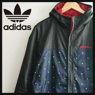 アディダス(adidas)の1083 アディダスネオ マーブルチェック ポリエステル ジャケット メンズO(ナイロンジャケット)