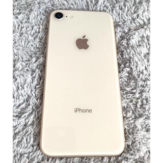 アイフォーン(iPhone)のiPhone8 64gb ゴールド simフリー(スマートフォン本体)