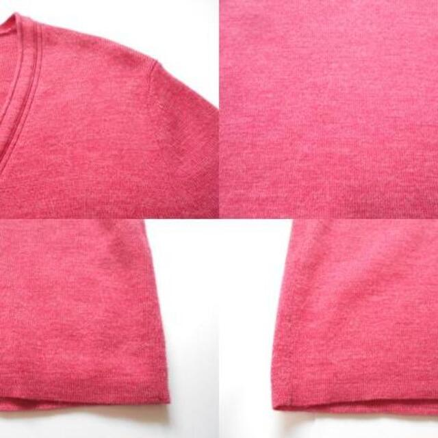 TOMORROWLAND(トゥモローランド)の送料無料! トゥモローランド トリコット ピンク ウール 100% ニット レディースのトップス(ニット/セーター)の商品写真