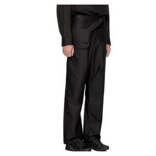 RAF SIMONS - kiko kostadinov 3d double pleat trousers
