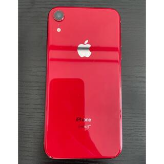 アイフォーン(iPhone)の(美品) iPhone XR 64GB  product RED  SIMフリー(スマートフォン本体)