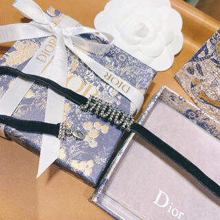 Dior - 箱 保存袋付き クリスチャンディオール  dior  チョーカー ネックレス