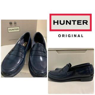 ハンター(HUNTER)のハンター ネイビーラバー レインシューズ(レインブーツ/長靴)