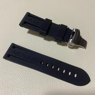 パネライ 腕時計交換用ラバーベルト24mm(ラバーベルト)