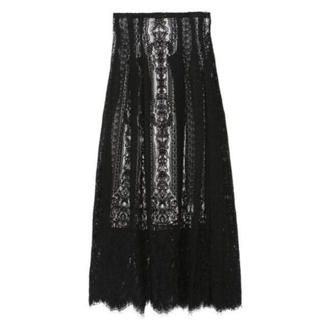 snidel(スナイデル)の♡snidel タックディテールレーススカート♡ レディースのスカート(ロングスカート)の商品写真