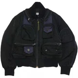 ISSEY MIYAKE - ISSEY MIYAKE ボンバージャケット